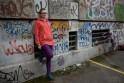 Au milieu des grafittis